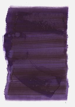 """""""Aufschrei 15:40 Uhr"""", 2015, 48 x 36cm"""
