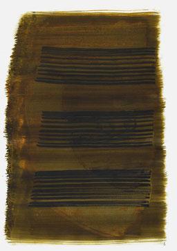 """""""Schrei 18:28 Uhr"""", 2016, 48 x 36cm"""
