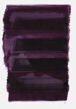 """""""Schrei 08:16 Uhr"""", 2015, 48 x 36cm"""