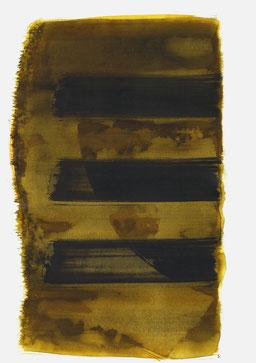 """""""Aufschrei 19:42 Uhr"""", 2016, 48 x 36cm"""