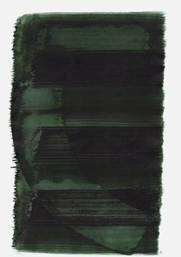 """""""Schrei 13:16 Uhr"""", 2015, 48 x 36cm"""