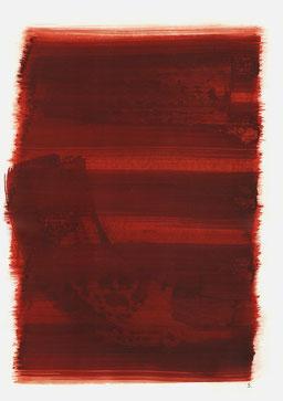 """""""Aufschrei 10:15 Uhr"""", 2016, 48 x 36cm"""