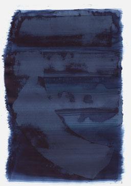 """""""Aufschrei 18:12 Uhr"""", 2018, 48 x 36cm"""