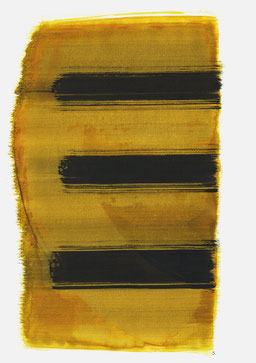 """""""Schrei 11:59 Uhr"""", 2016, 48 x 36cm"""