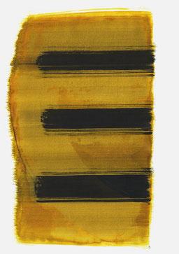 "Serie: ""Friedl Dicker-Brandeis"". ""Schrei 11:59 Uhr"", 2016, 48 x 36cm; ©: Konstanze Sailer"
