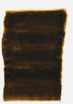 """""""Schrei 21:17 Uhr"""", 2015, 48 x 36cm"""