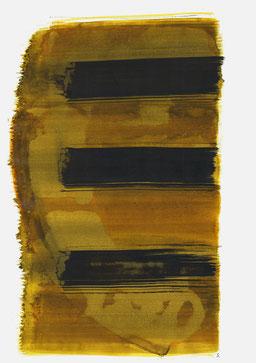 """""""Schrei 11:38 Uhr"""", 2016, 48 x 36cm"""