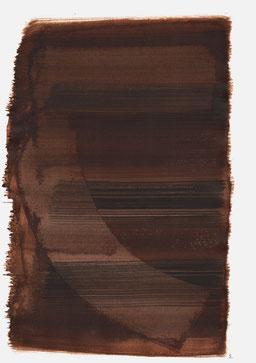 """""""Aufschrei 15:17 Uhr"""", 2016, 48 x 36cm"""