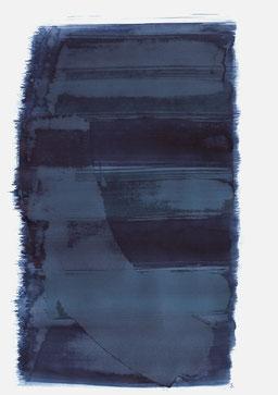 """""""Schrei 14:18 Uhr"""", 2018, 48 x 36cm"""