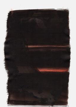 """""""Schrei 05:04 Uhr"""", 2015, 48 x 36cm"""
