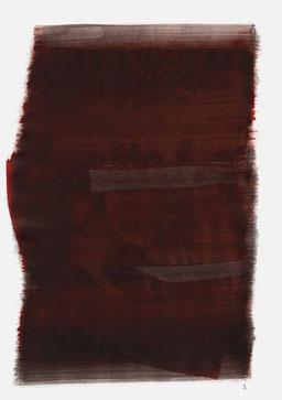 """""""Aufschrei 18:17 Uhr"""", 2015, 48 x 36cm"""