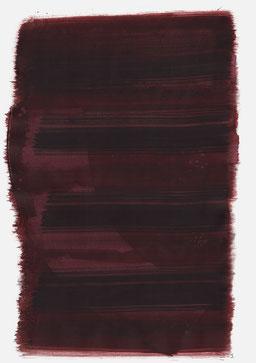 """""""Aufschrei 22:12 Uhr"""", 2016, 48 x 36cm"""