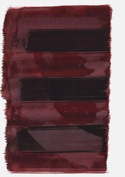 """""""Schrei 19:39 Uhr"""", 2015, 48 x 36cm"""