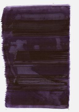 """""""Aufschrei 18:57 Uhr"""", 2015, 48 x 36cm"""