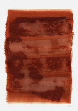 """""""Endloser Schrei 15:38 Uhr"""", 2015, 48 x 36cm"""