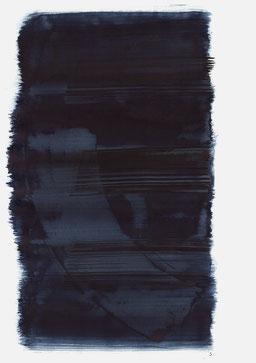 """""""Aufschrei 20:06 Uhr"""", 2016, 48 x 36cm"""