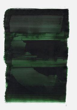 """""""Aufschrei 18:27 Uhr"""", 2015, 48 x 36cm"""