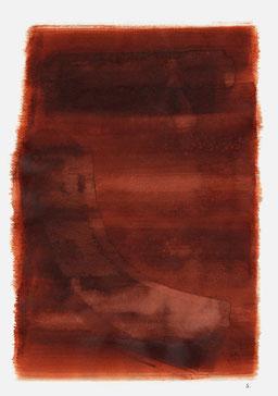 """""""Schrei 19:18 Uhr"""", 2015, 48 x 36cm"""