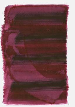 """""""Aufschrei 11:39 Uhr"""", 2016, 48 x 36cm"""