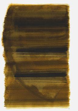 """""""Aufschrei 18:44 Uhr"""", 2016, 48 x 36cm"""