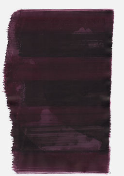 """""""Schrei 23:15 Uhr"""", 2016, 48 x 36cm"""