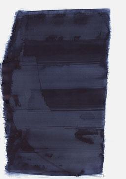 """""""Aufschrei 16:55 Uhr"""", 2017, 48 x 36cm"""