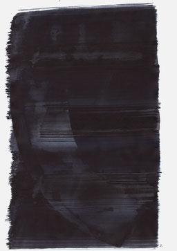 """""""Aufschrei 04:46 Uhr"""", 2015, 48 x 36cm"""