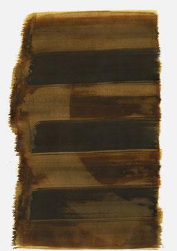 """""""Schrei 21:01 Uhr"""", 2015, 48 x 36cm"""