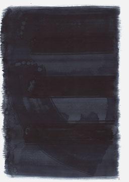 """""""Schrei 23:29 Uhr"""", 2016, 48 x 36cm"""