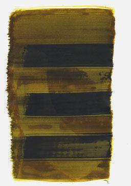 """""""Aufschrei 10:08 Uhr"""", 2017, 48 x 36cm"""
