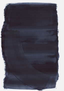 """""""Aufschrei 20:42 Uhr"""", 2016, 48 x 36cm"""