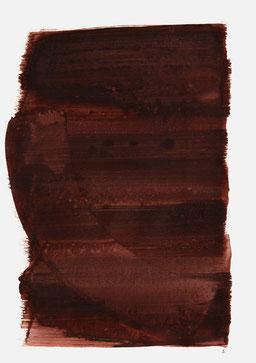 """""""Aufschrei 17:35 Uhr"""", 2015, 48 x 36cm"""
