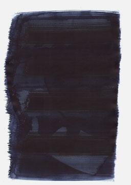 """""""Schrei 03:59 Uhr"""", 2016, 48 x 36cm"""