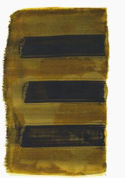"""""""Aufschrei 19:14 Uhr"""", 2016, 48 x 36cm"""