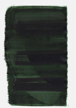 """""""Aufschrei 19:02 Uhr"""", 2015, 48 x 36cm"""