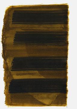 """""""Aufschrei 16:27 Uhr"""", 2015, 48 x 36cm"""
