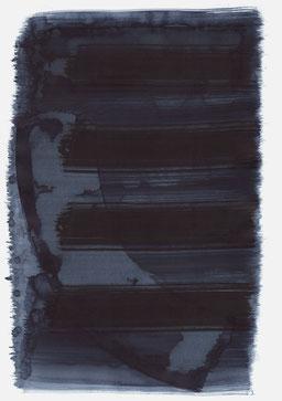 """""""Schrei 21:39 Uhr"""", 2016, 48 x 36cm"""