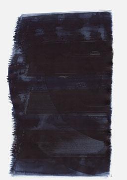 """""""Aufschrei 04:22 Uhr"""", 2015, 48 x 36cm"""