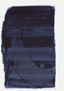 """""""Aufschrei 14:28 Uhr"""", 2017, 48 x 36cm"""