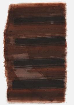 """""""Schrei 11:33 Uhr"""", 2017, 48 x 36cm"""