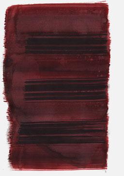 """""""Schrei 19:44 Uhr"""", 2015, 48 x 36cm"""