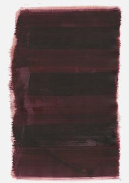 """""""Aufschrei 21:18 Uhr"""", 2017, 48 x 36cm"""