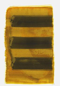 """""""Schrei 12:04 Uhr"""", 2016, 48 x 36cm"""