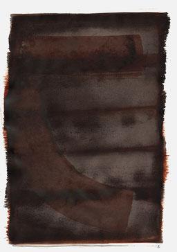 """""""Aufschrei 04:13 Uhr"""", 2015, 48 x 36cm"""