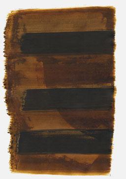 """""""Aufschrei 20:17 Uhr"""", 2015, 48 x 36cm"""