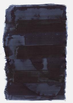 """""""Aufschrei 18:24 Uhr"""", 2016, 48 x 36cm"""