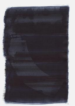 """""""Endloser Schrei 23:43 Uhr"""", 2017, 48 x 36cm"""