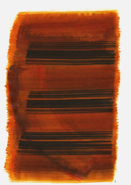 """""""Schrei 15:27 Uhr"""", 2015, 48 x 36cm"""