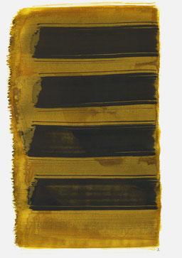 """""""Schrei 13:27 Uhr"""", 2016, 48 x 36cm"""