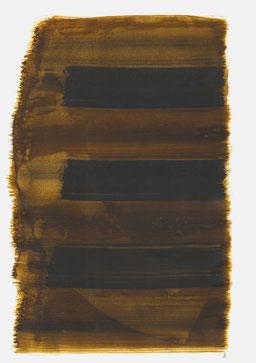 """""""Aufschrei 22:38 Uhr"""", 2016, 48 x 36cm"""